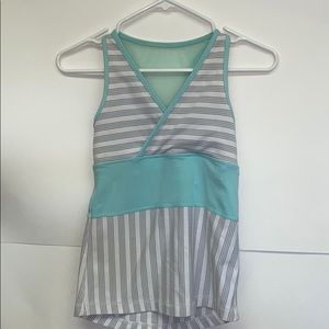 Lululemon Deep V Tank With Mesh Racerback